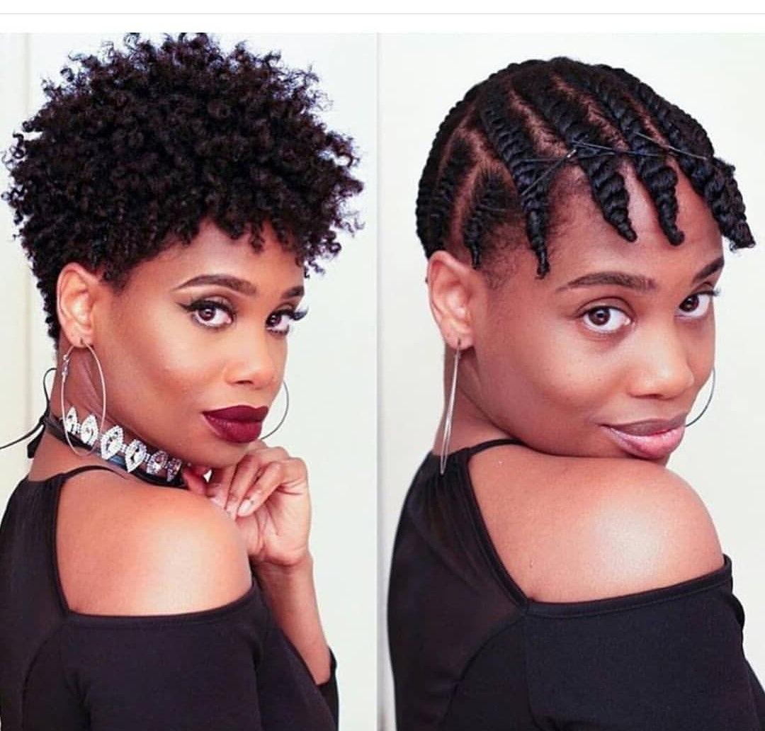 Short Hair Styles Natural Hair | Natural Hair Styles | Pinterest Pertaining To Short Haircuts For Transitioning Hair (View 15 of 25)
