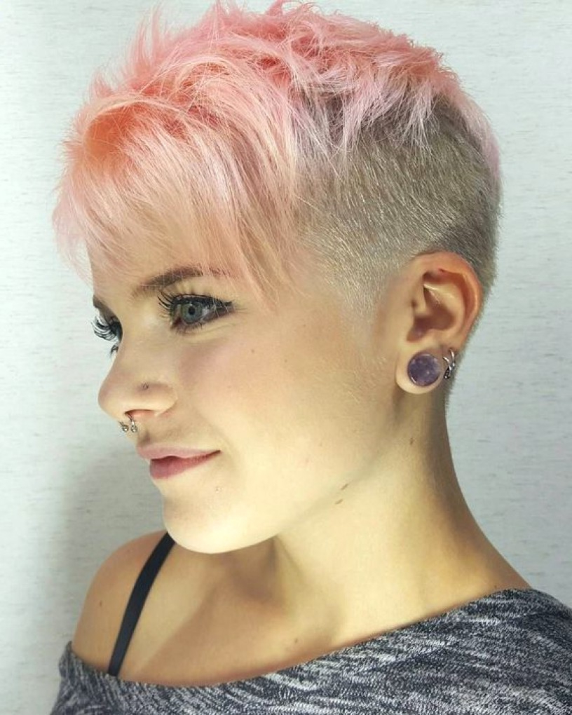 Short Hair Styles Shaved Sides Hairstyles 1 Throughout Short Hairstyles With Both Sides Shaved (View 17 of 25)