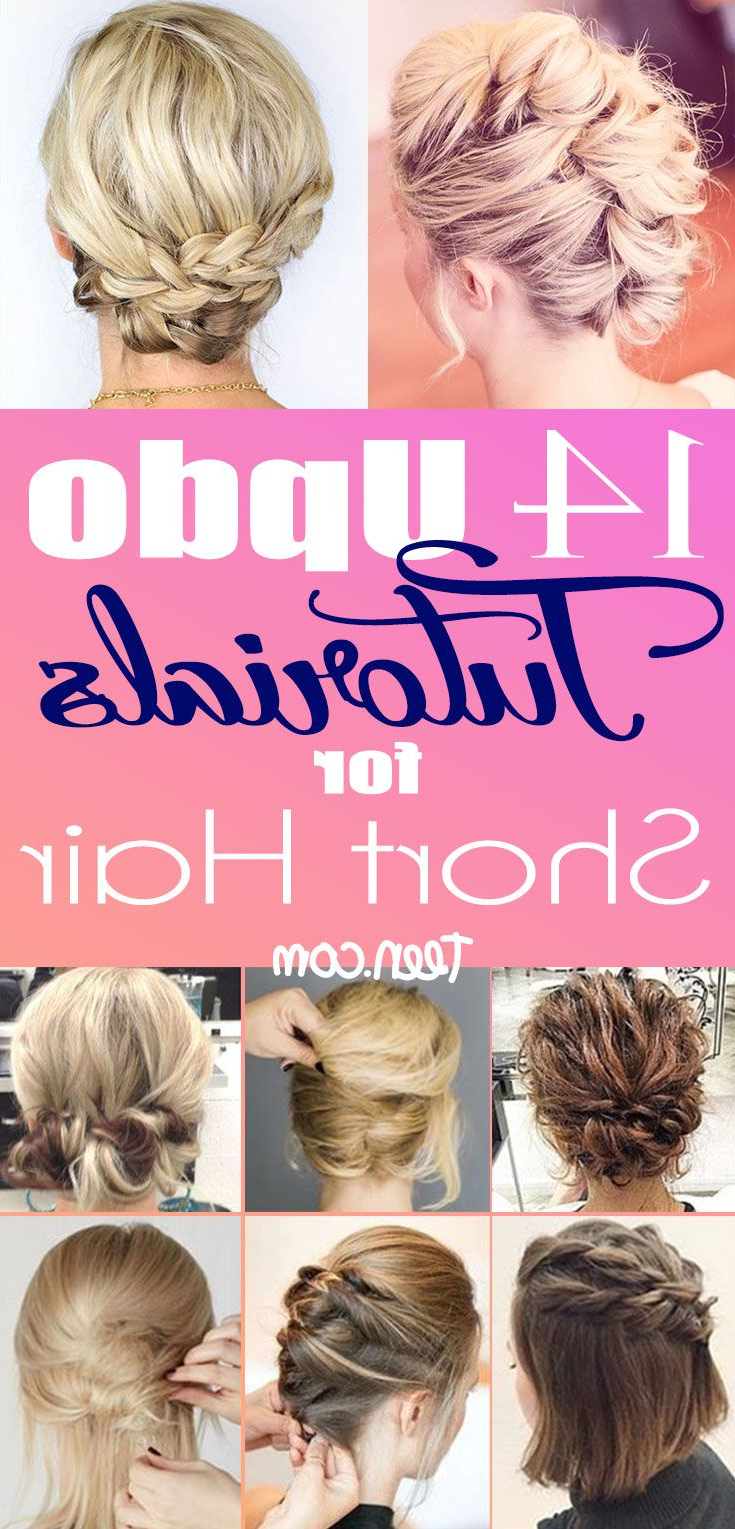Short Hair Updos, How To Style Bobs, Lobs Tutorials | Amazing Hair Inside Short Hairstyles For Formal Event (View 20 of 25)