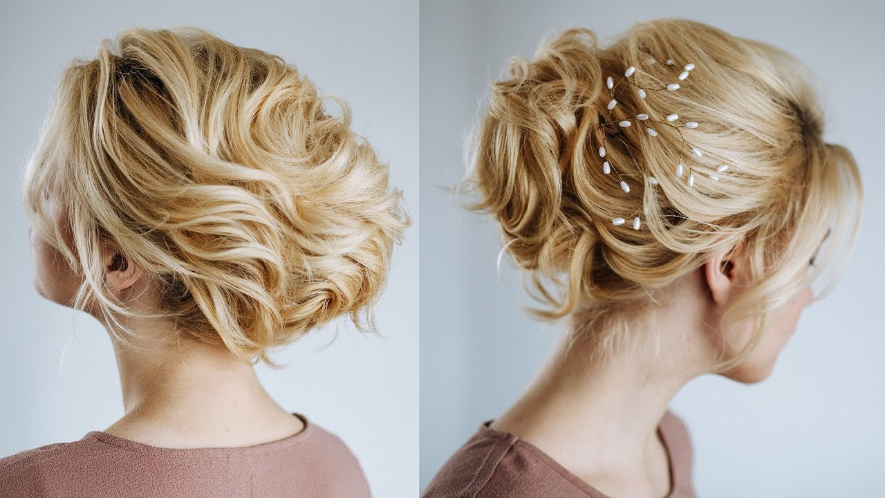 Short Hair Wedding Updo   Hairstyles For Short Hair From Kukla Lu With Regard To Hairstyle For Short Hair For Wedding (View 25 of 25)