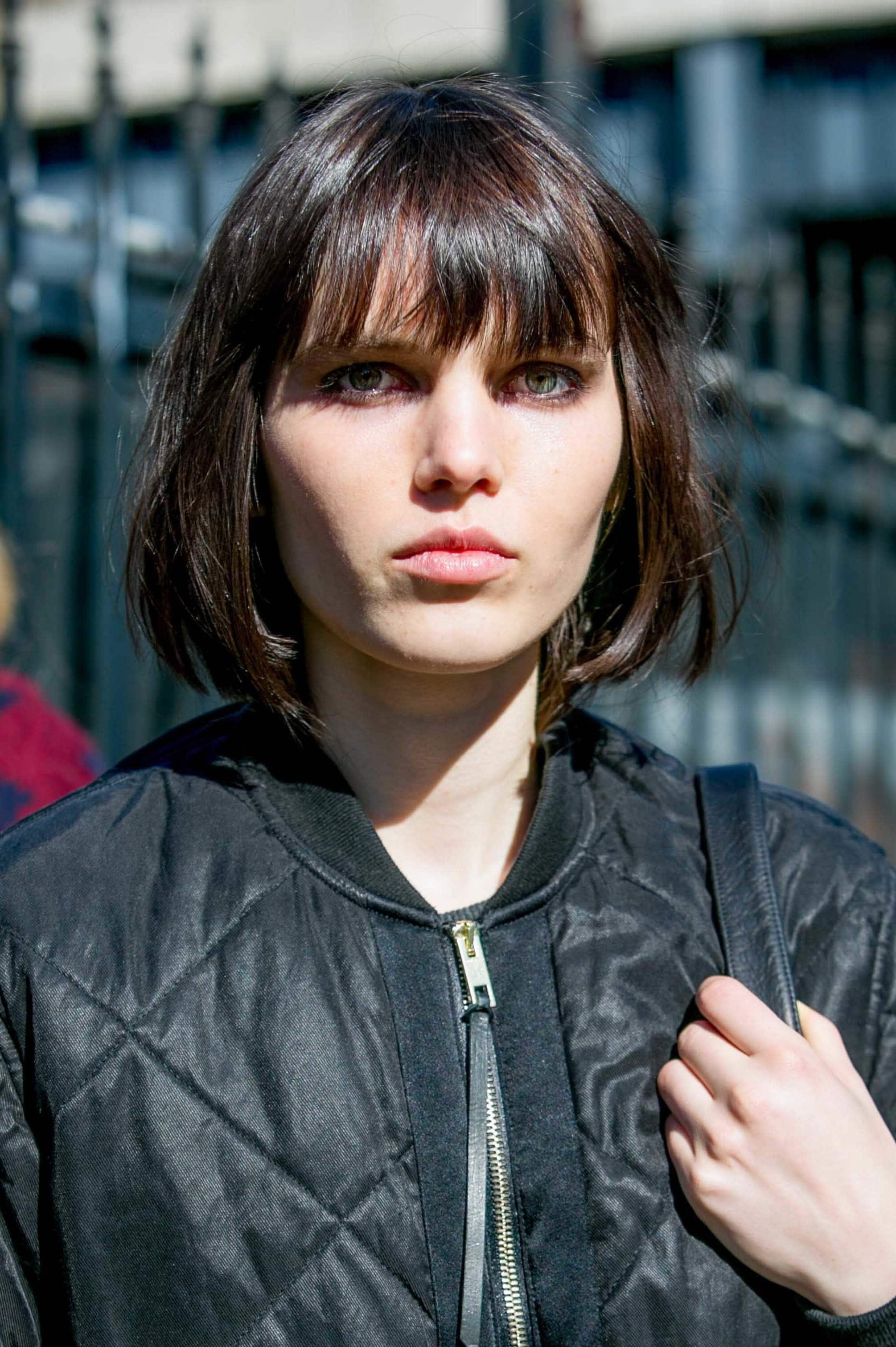 Short Hair With A Fringe: Your Complete Guide To Pulling It Off Inside Short Haircuts With Longer Bangs (View 24 of 25)
