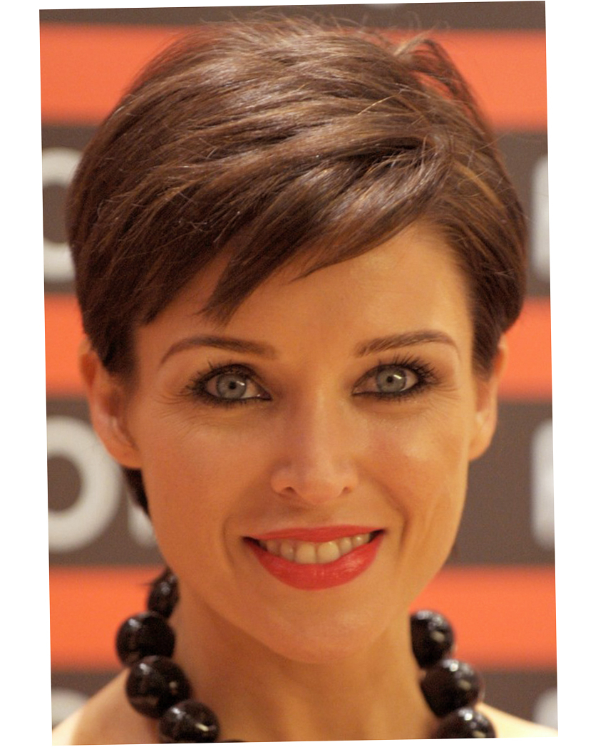 Short Haircut For Round Faces – Hairstyles Ideas For Short Haircuts For A Round Face (View 18 of 25)