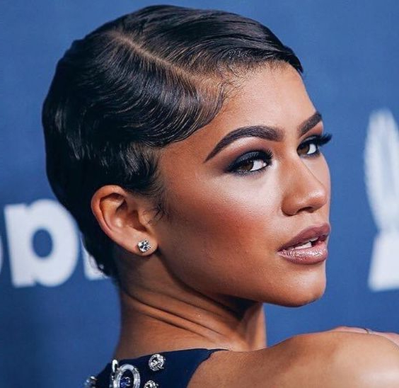 Short Haircut Ideas For Afro Hair – Hair World Magazine Throughout Sleeked Down Pixie Hairstyles With Texturizing (View 7 of 25)