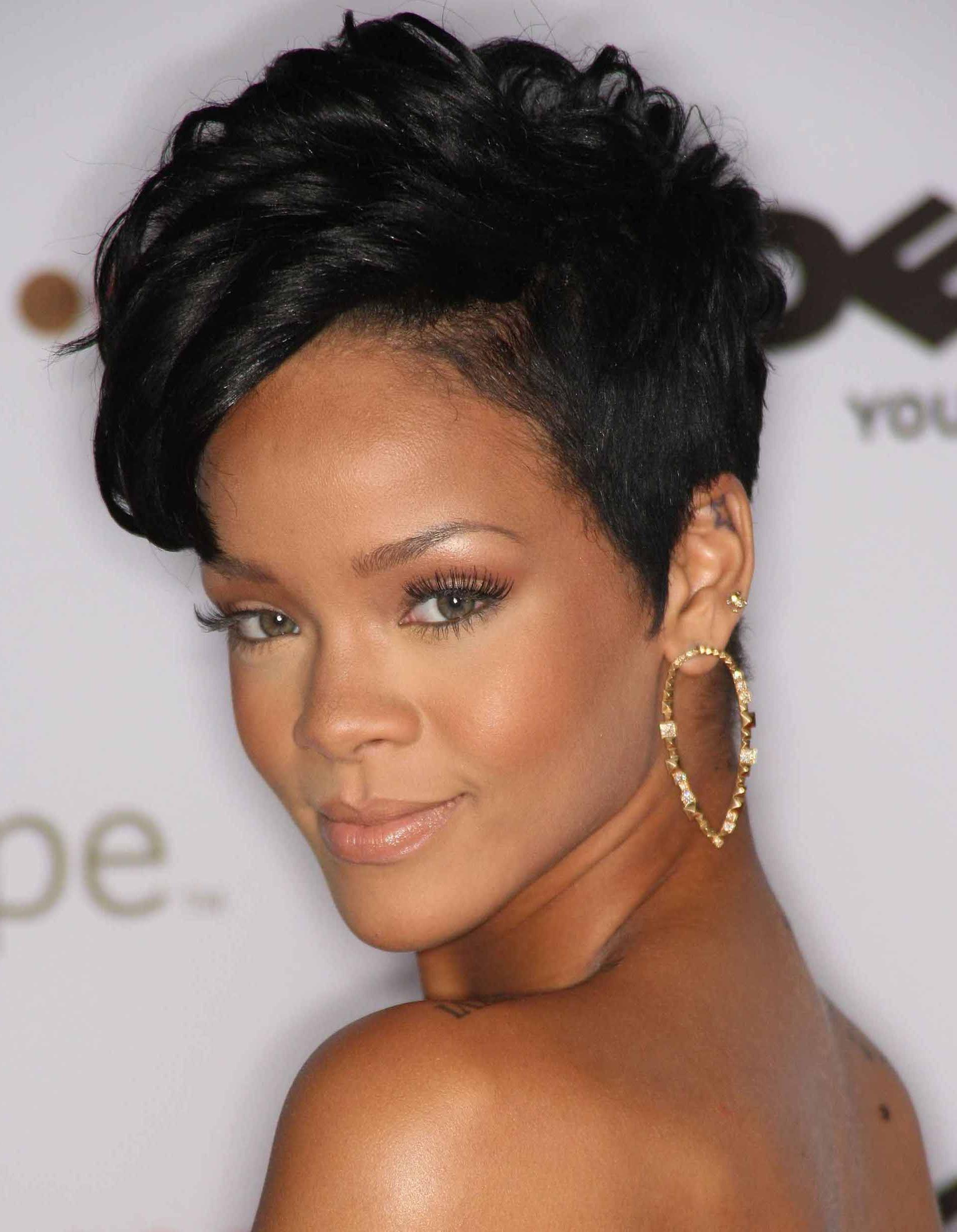 Short Haircut Ideas For Black Women – Hair World Magazine For Dramatic Short Haircuts (View 20 of 25)