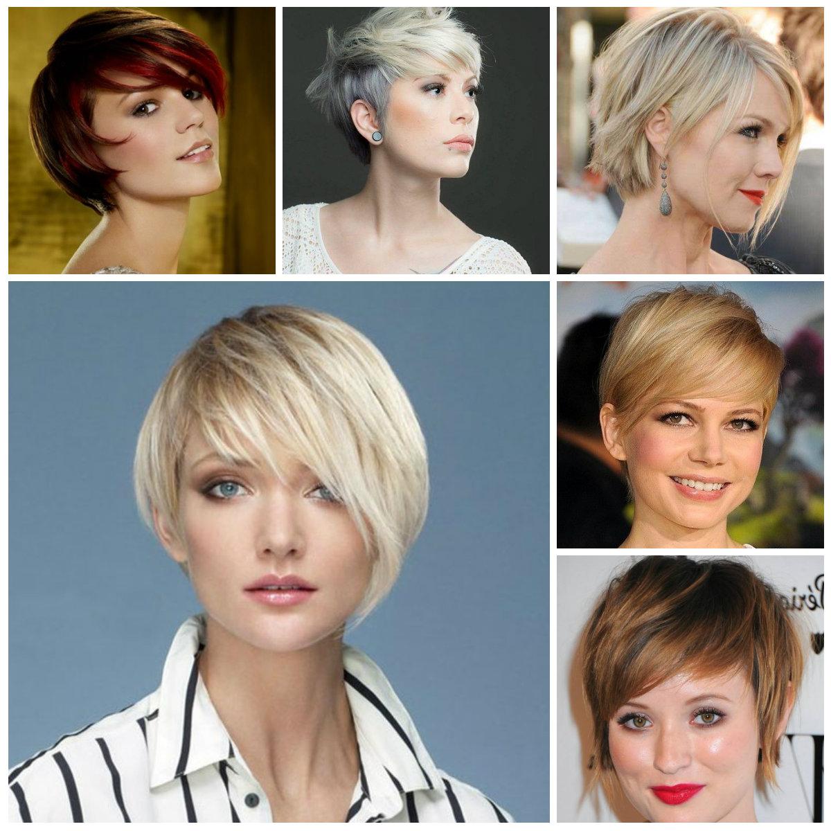 Short Haircut Ideas For Fine Hair 2016   2019 Haircuts, Hairstyles Regarding Short Feminine Hairstyles For Fine Hair (View 15 of 25)