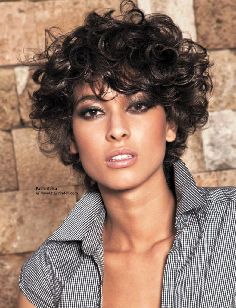 Short Haircut Styles : Short Haircut Styles For Curly Hair Related Intended For Short Hairstyles For Very Curly Hair (View 19 of 25)