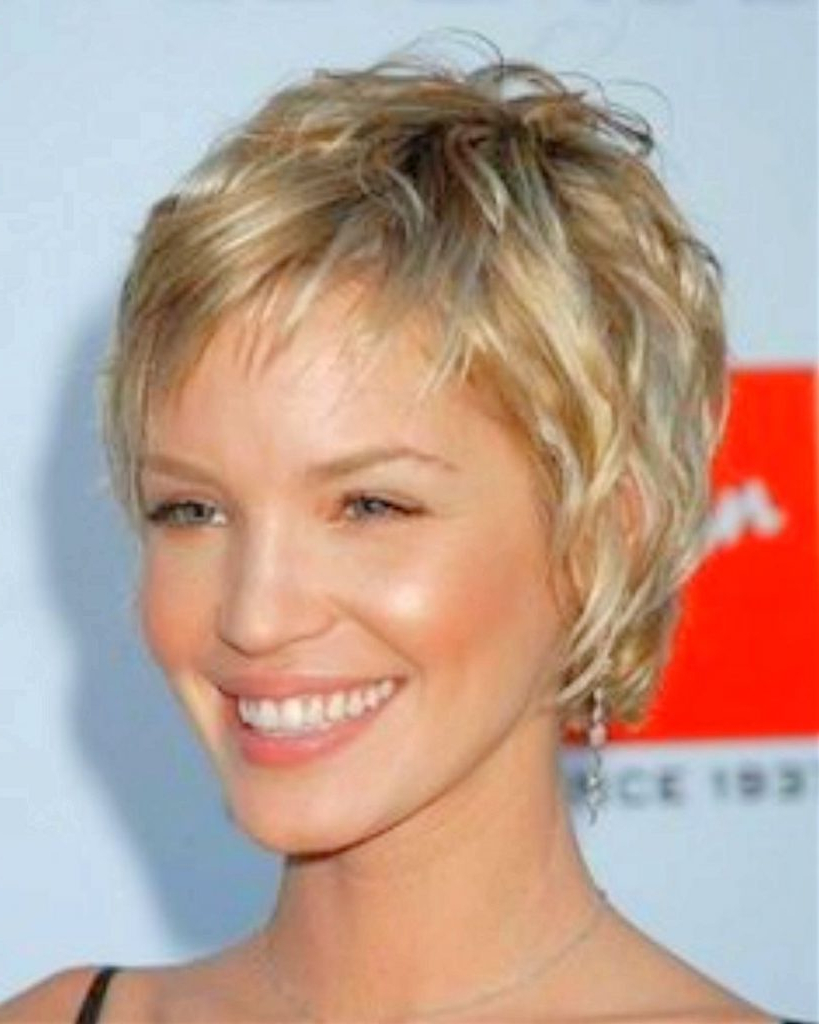 Short Haircut Styles : Short Haircuts Fine Hair Pictures Different Inside Short Hairstyles For Fine Curly Hair (View 10 of 25)