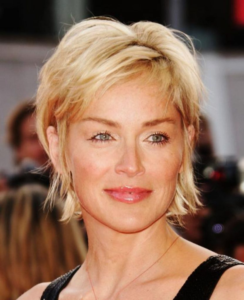 Short Haircut Styles : Short Haircuts For Thin Hair And Round Faces Within Short Haircuts For Women Over  (View 25 of 25)