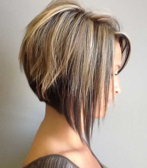 Short Haircut Styles : Stacked Short Haircuts Tapered Bob When You For Short Bob Hairstyles With Tapered Back (View 21 of 25)