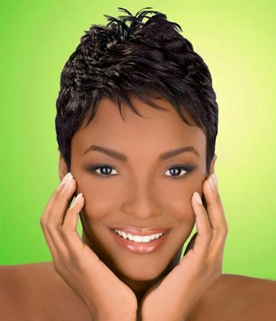 Short Haircuts African American Females – Hairstyle For Women & Man Within African American Ladies Short Haircuts (View 6 of 25)