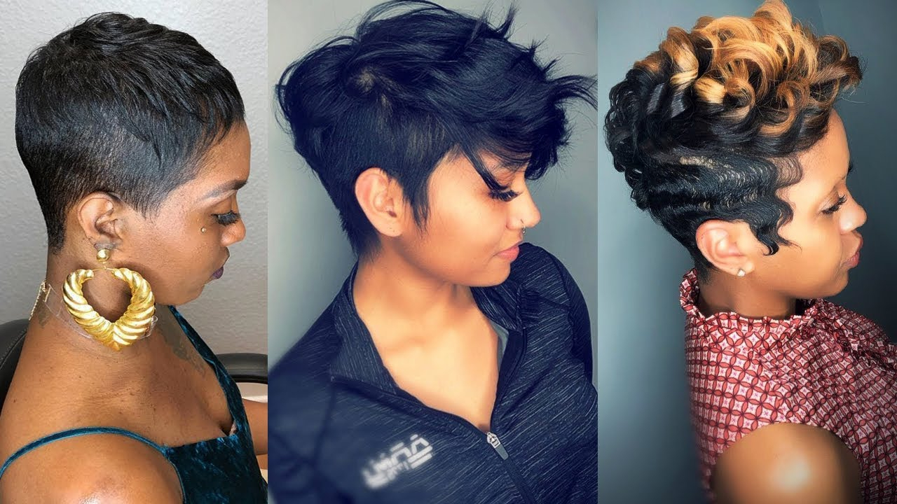 Short Haircuts And Hairstyles In 2019 For Black Women – Short Throughout Black Short Hairstyles (View 9 of 25)