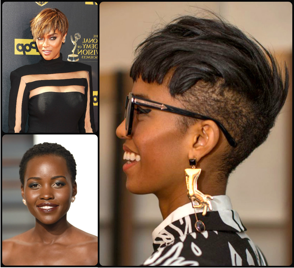 Short Haircuts Archives | Page 6 Of 15 | Hairstyles 2017, Hair Pertaining To Shorter Black Messy Hairstyles (View 16 of 25)