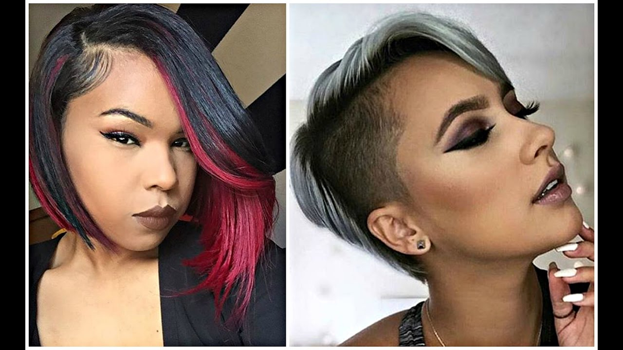Short Haircuts For Black & African American Women – Youtube For Auburn Short Hairstyles (View 23 of 25)