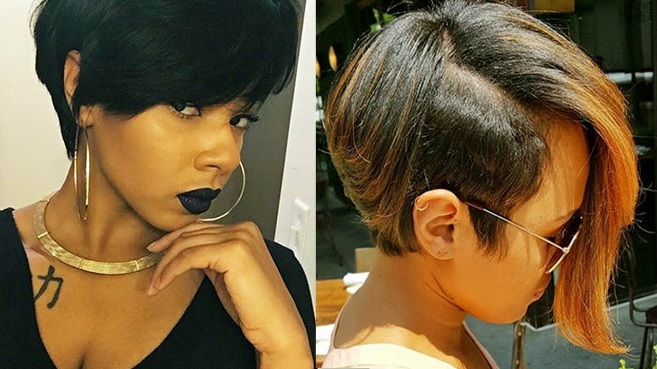 Short Haircuts For Black Women 2017 & Black Women's Haircuts For Black Women With Short Hairstyles (View 10 of 25)