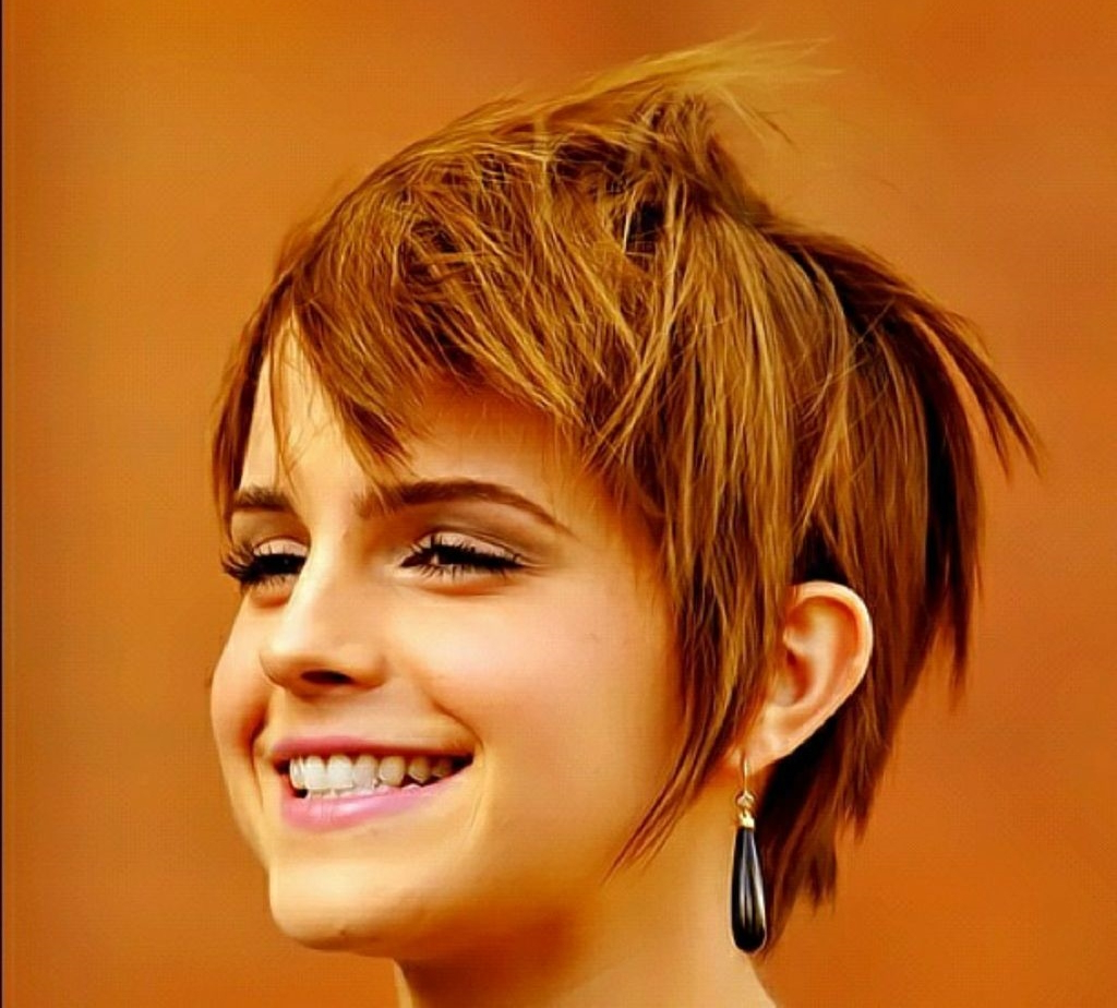 Short Haircuts For Heart Shaped Faces – Hairstyles Ideas With Cute Short Haircuts For Heart Shaped Faces (View 11 of 25)
