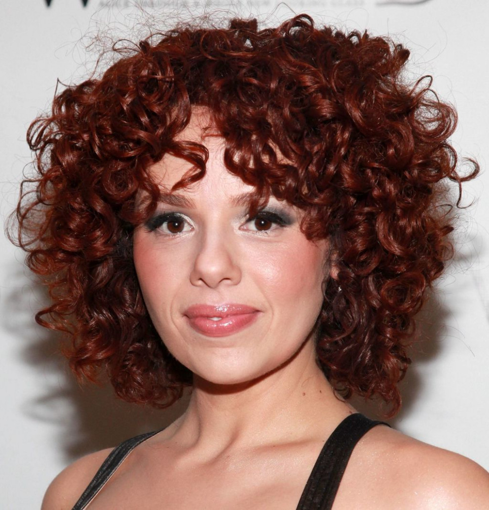 Short Haircuts For Naturally Curly Hair 2017 – Hairstyles With Naturally Curly Short Hairstyles (View 16 of 25)