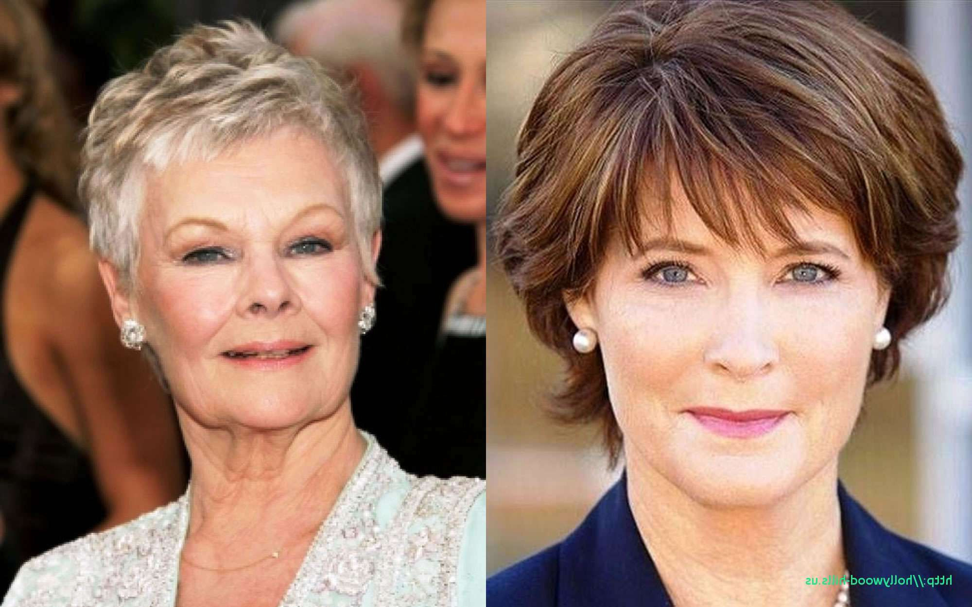 Short Haircuts For Old Ladies Hairstyles For Thin Hair Middle Aged With Short Haircuts For Seniors (View 19 of 25)