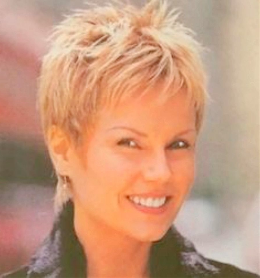 Short Haircuts For Older Women With Round Faces Images  | Hair Within Short Haircuts For Seniors (View 10 of 25)