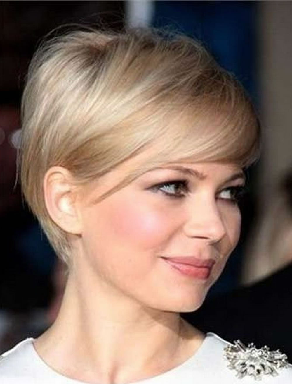 Short Haircuts For Round Face Thin Hair Ideas For 2018 – Page 2 Inside Short Haircuts For A Round Face (View 20 of 25)