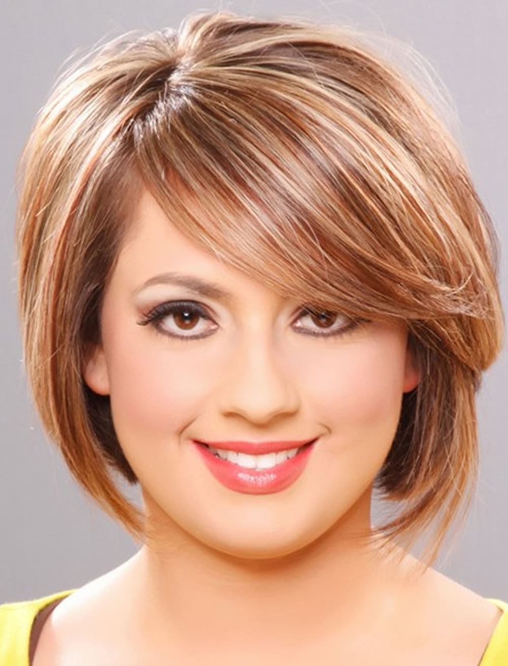 Short Haircuts For Round Face Thin Hair Ideas For 2018 – Page 3 Throughout Short Hair For Round Face Women (View 7 of 25)