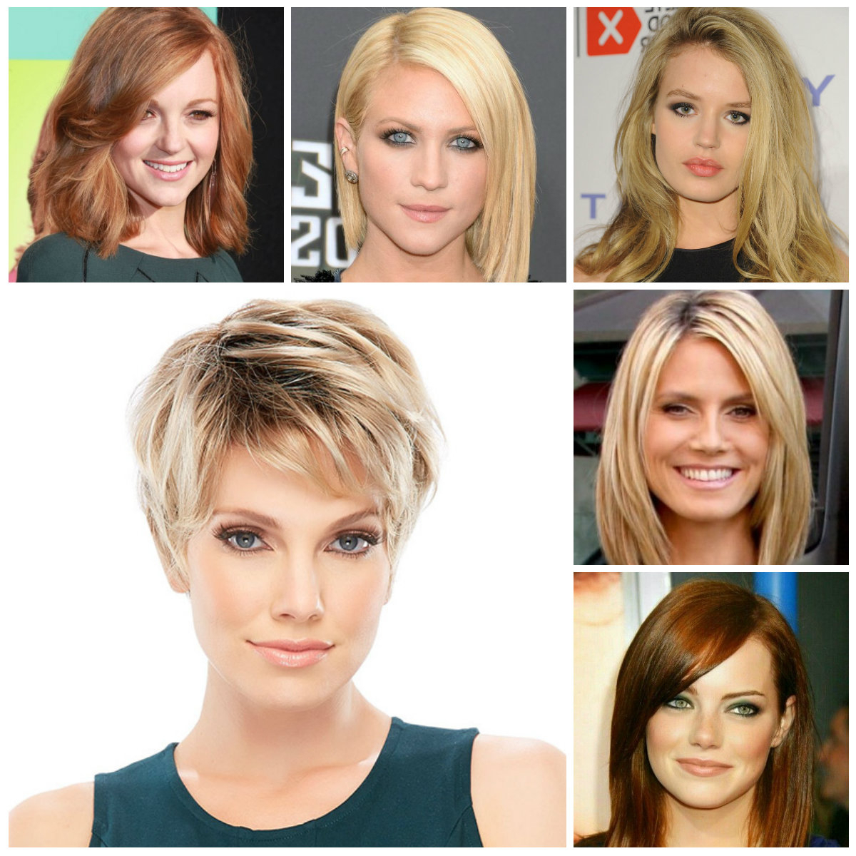 Short Haircuts For Round Faces 2017 – Leymatson Intended For Simple Short Haircuts For Round Faces (View 6 of 25)