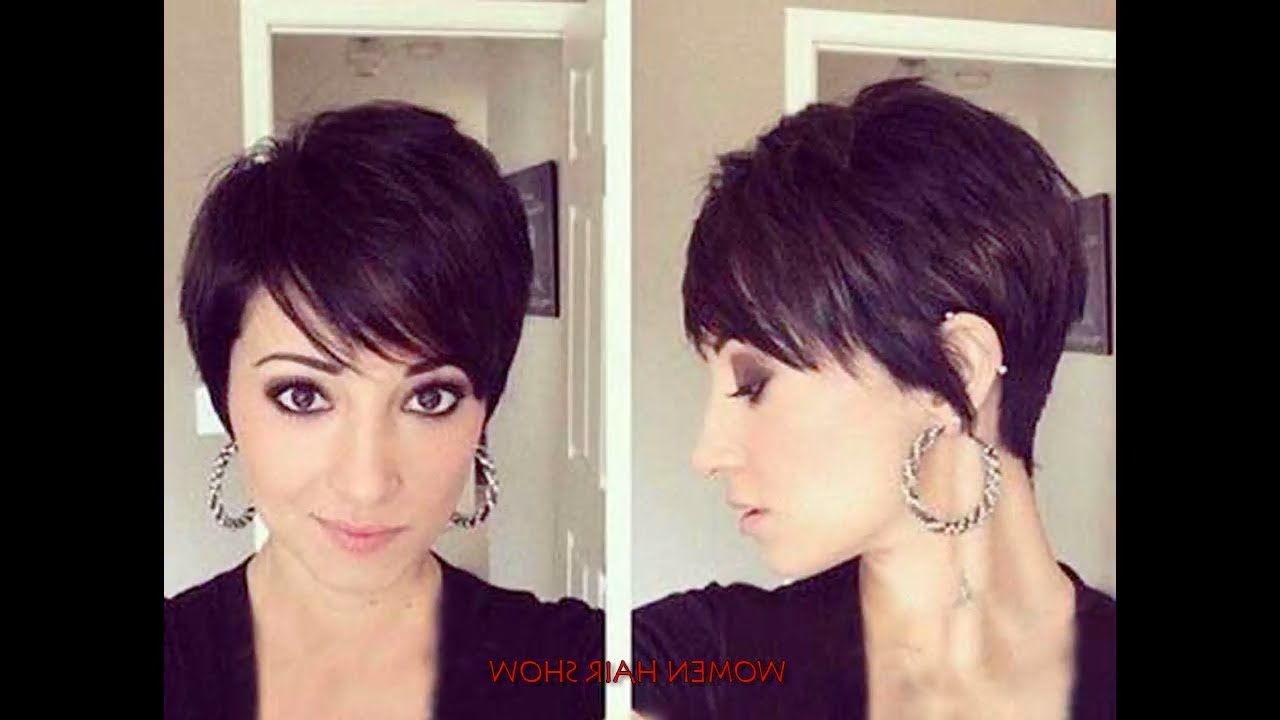 Short Haircuts For Round Faces 2017 – Leymatson With Women Short Haircuts For Round Faces (View 15 of 25)