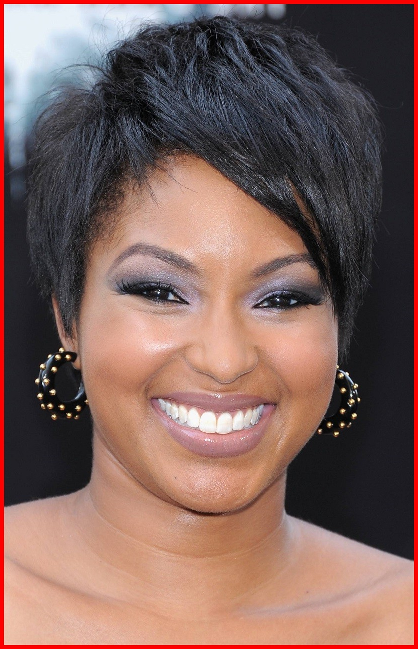 Short Haircuts For Round Faces Black Hair 246431 Short Haircuts Inside Short Hairstyles For Black Round Faces (View 9 of 25)