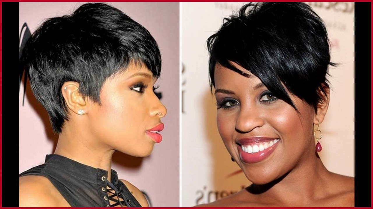 Short Haircuts For Round Faces Black Hair 324225 Black Women Short In Short Haircuts For Round Faces Black Women (View 23 of 25)