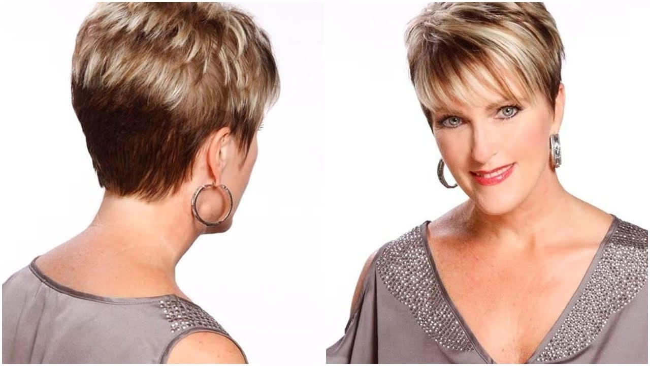 Short Haircuts For Round Faces Over 50 | Hairsjdi Within Over 50S Short Hairstyles (View 16 of 25)