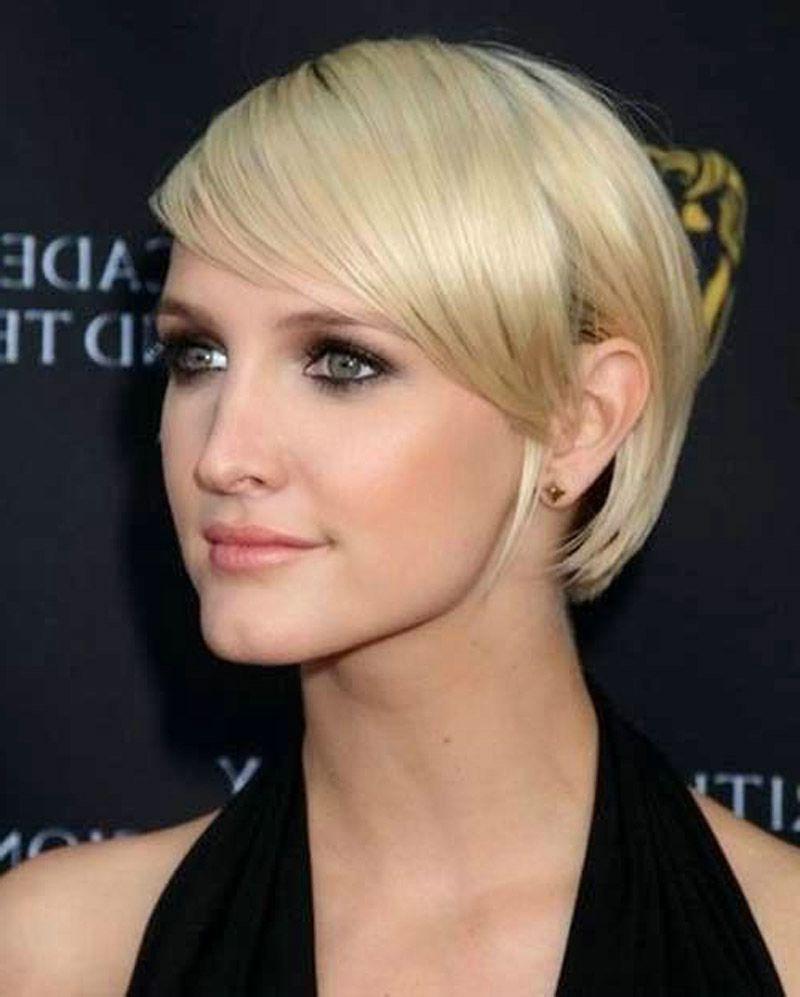 Short Haircuts For Straight Fine Hair – Hairstyles Ideas In Short Hairstyles For Fine Thin Straight Hair (View 8 of 25)