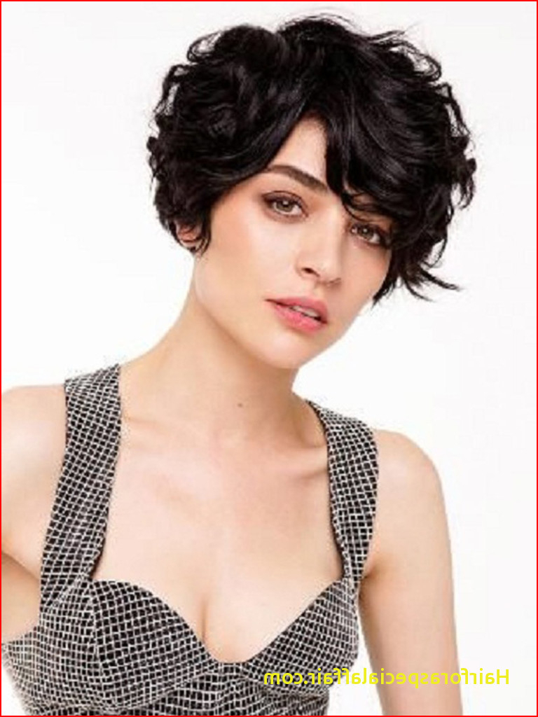 Short Haircuts For Thick Wavy Hair 19 Cute Wavy & Curly Pixie Cuts Inside Thick Curly Hair Short Hairstyles (View 14 of 25)
