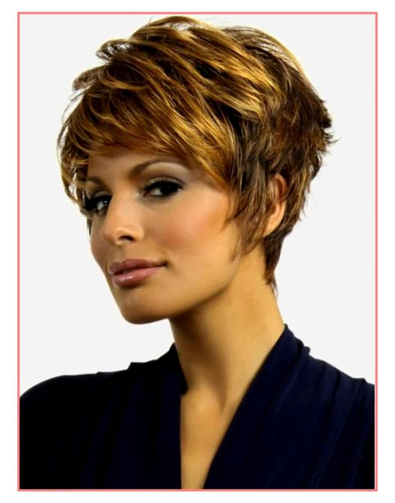 Short Haircuts For Thin Curly Hair Women – Amazinghairstyle (View 14 of 25)