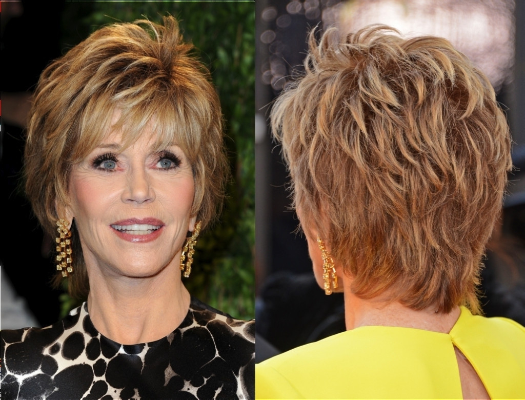 Short Haircuts For Women Over 50 With Fine Hair Collection Haircut With Medium To Short Haircuts For Women Over (View 14 of 25)