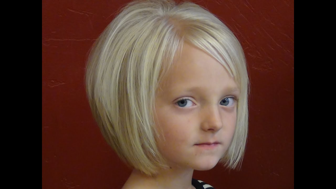 Short Haircuts) On Little Girl Hairstyles - Youtube for Little Girl Short Hairstyles Pictures