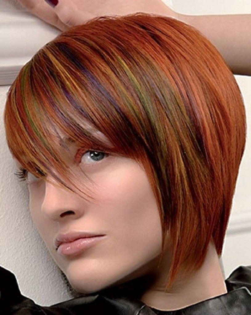 Short Haircuts With Blonde Highlights – Hairstyles Ideas With Regard To Short Haircuts With Red And Blonde Highlights (View 11 of 25)