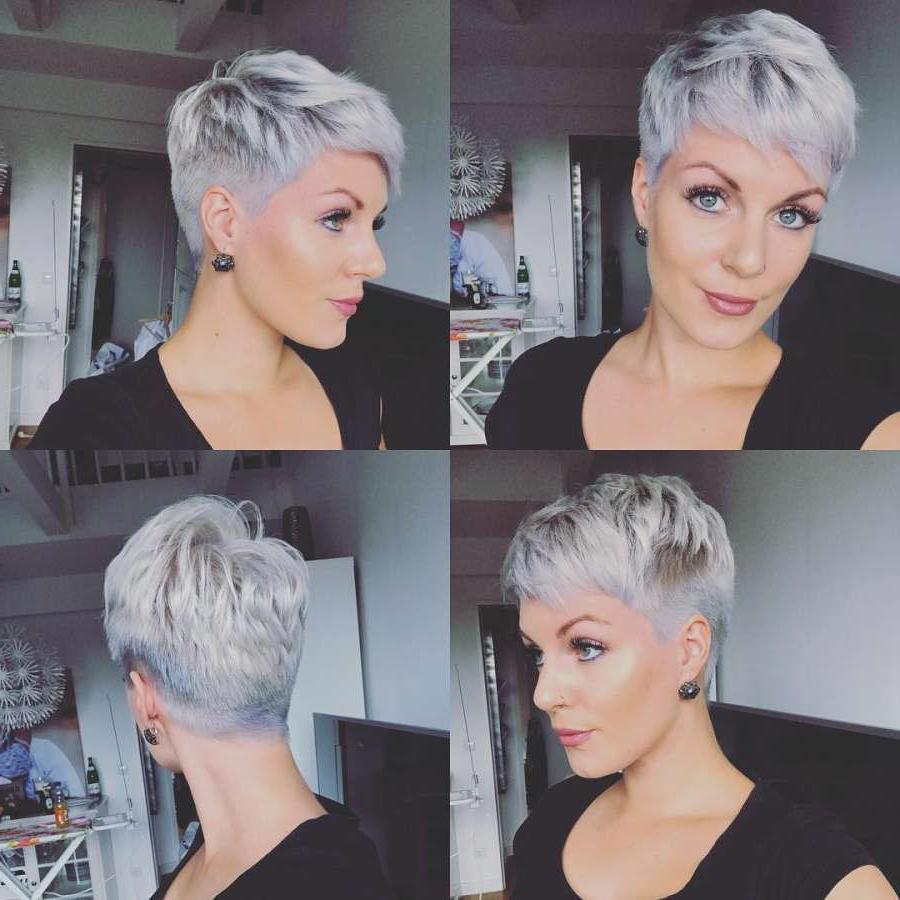 Short Hairstyle 2018 | Hair In 2018 | Pinterest | Short Hair Styles For Gray Hair Short Hairstyles (View 10 of 25)