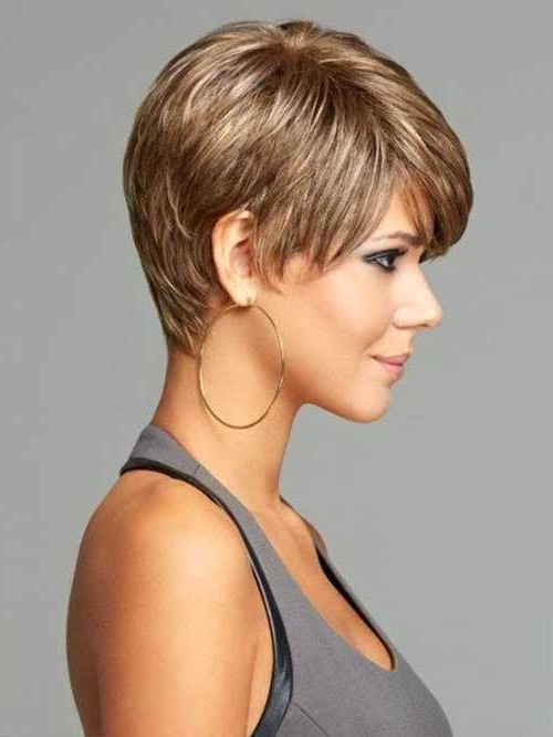 Short Hairstyle For Thick Hair – Jahanadwords With Pixie Haircuts With Short Thick Hair (View 19 of 25)