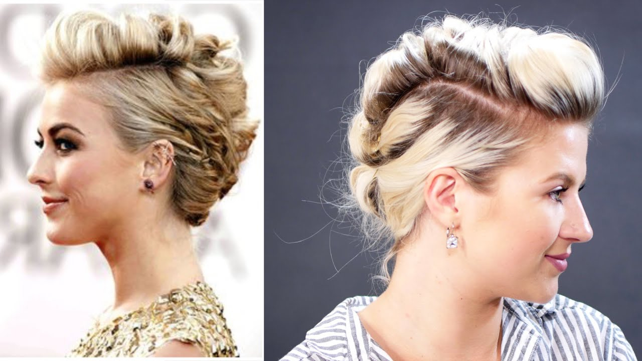 Short Hairstyle Julianne Hough How To Faux Hawk Hair Tutorial Pertaining To Julianne Hough Short Hairstyles (View 24 of 25)