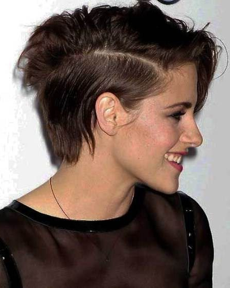 Short Hairstyle With Side Part Short Haircuts For Women   Hair In Short Haircuts With Side Part (View 10 of 25)