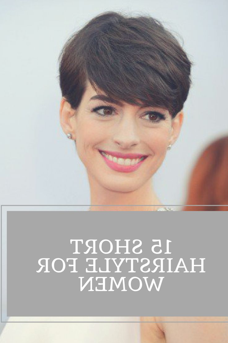 Short Hairstyles Are Always Trendy And Popular For Their Easy And Inside Low Maintenance Short Haircuts (View 20 of 25)