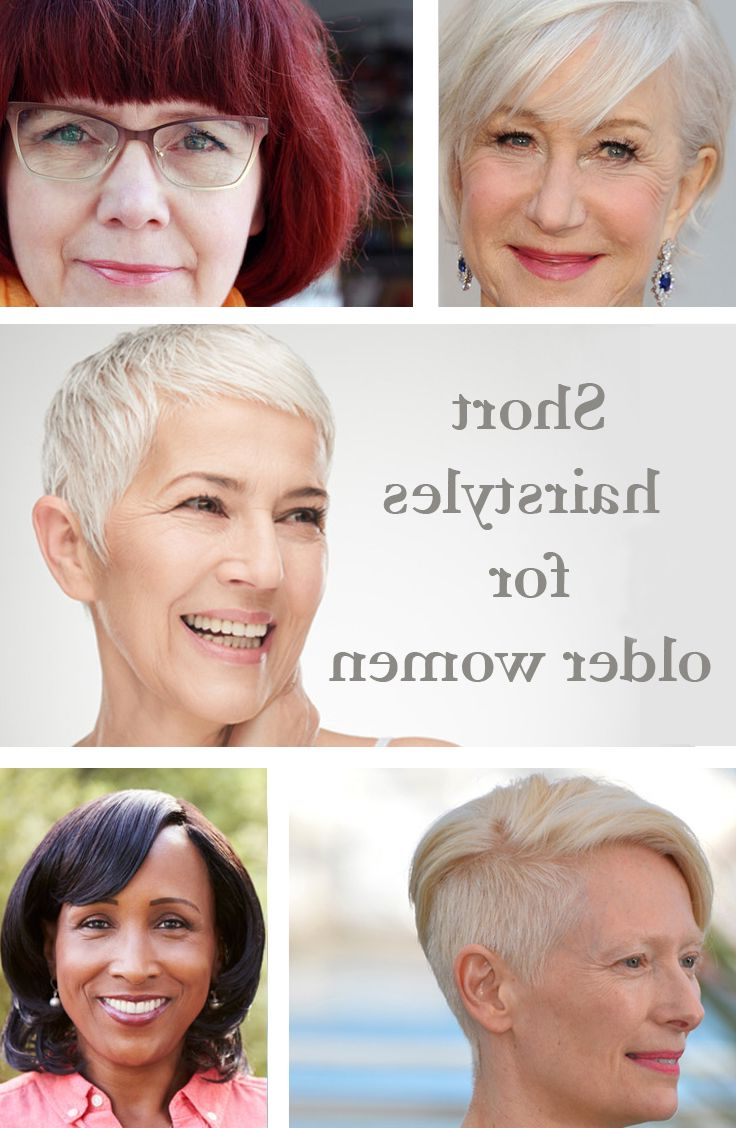 Short Hairstyles   Beauty For Over 50S   Pinterest   Short Hairstyle Inside Short Hairstyles For The Over 50S (View 18 of 25)