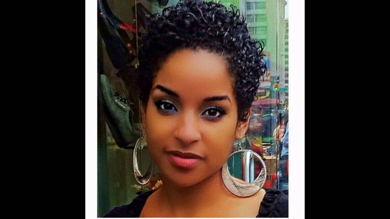Short Hairstyles Black Hair – Youtube With Cute Short Hairstyles For Black Women (View 8 of 25)