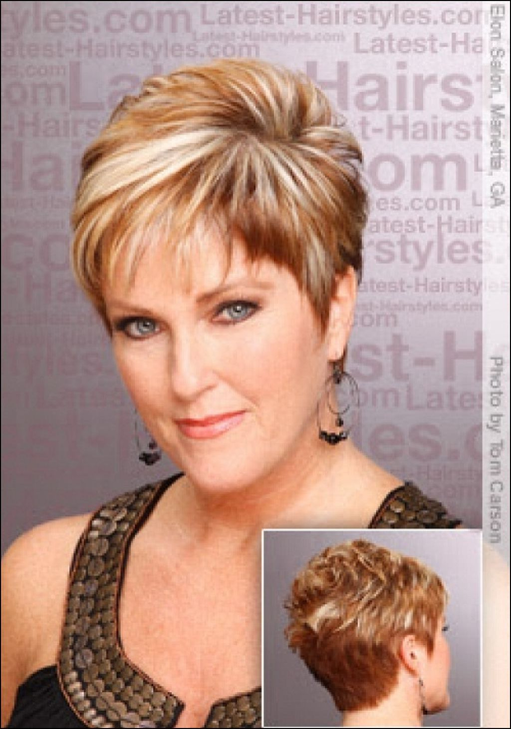 Short Hairstyles For 50 Year Old Women | Hare | Pinterest | Short Intended For Short Hairstyles For 50 Year Old Woman (View 3 of 25)