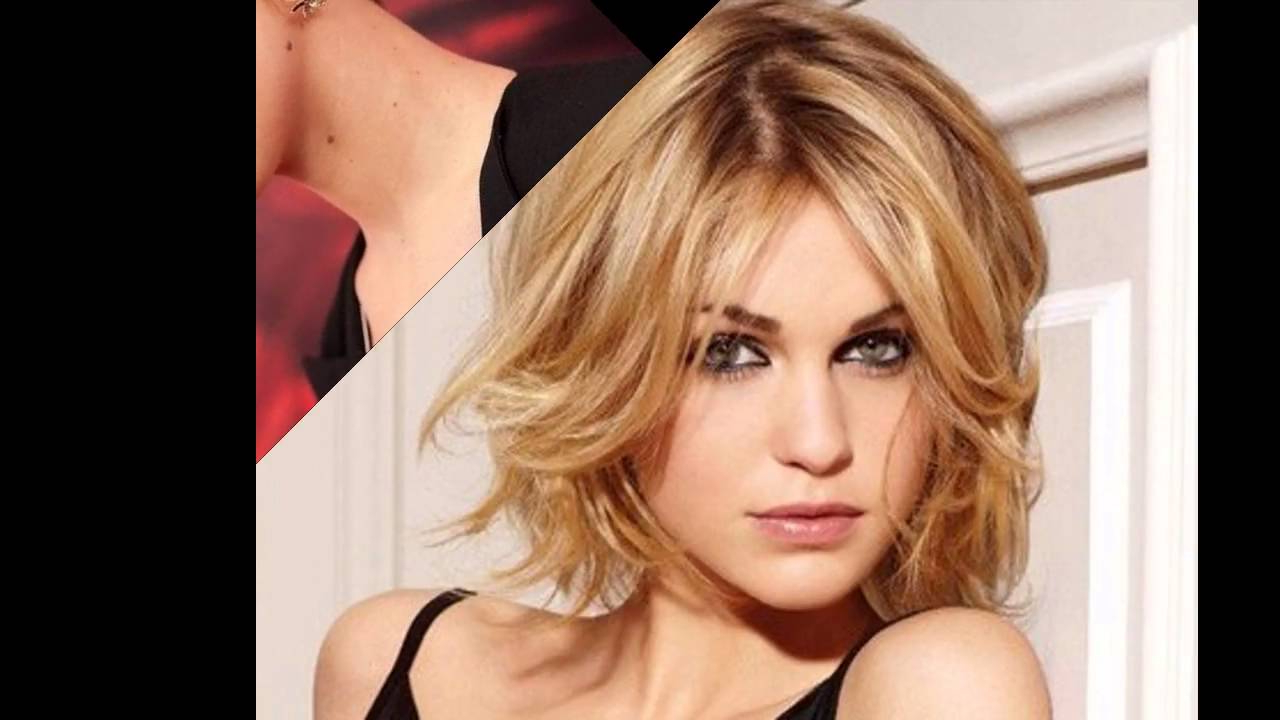 Short Hairstyles For A Square Face – Youtube Pertaining To Short Hairstyles For A Square Face (View 12 of 25)