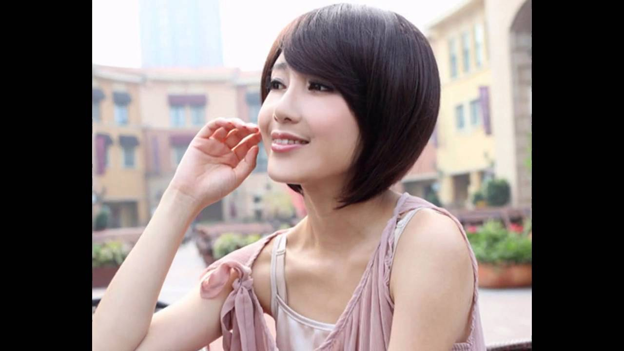 Short Hairstyles For Asian Women 2016 – Youtube With Short Hairstyle For Asian Girl (View 3 of 25)
