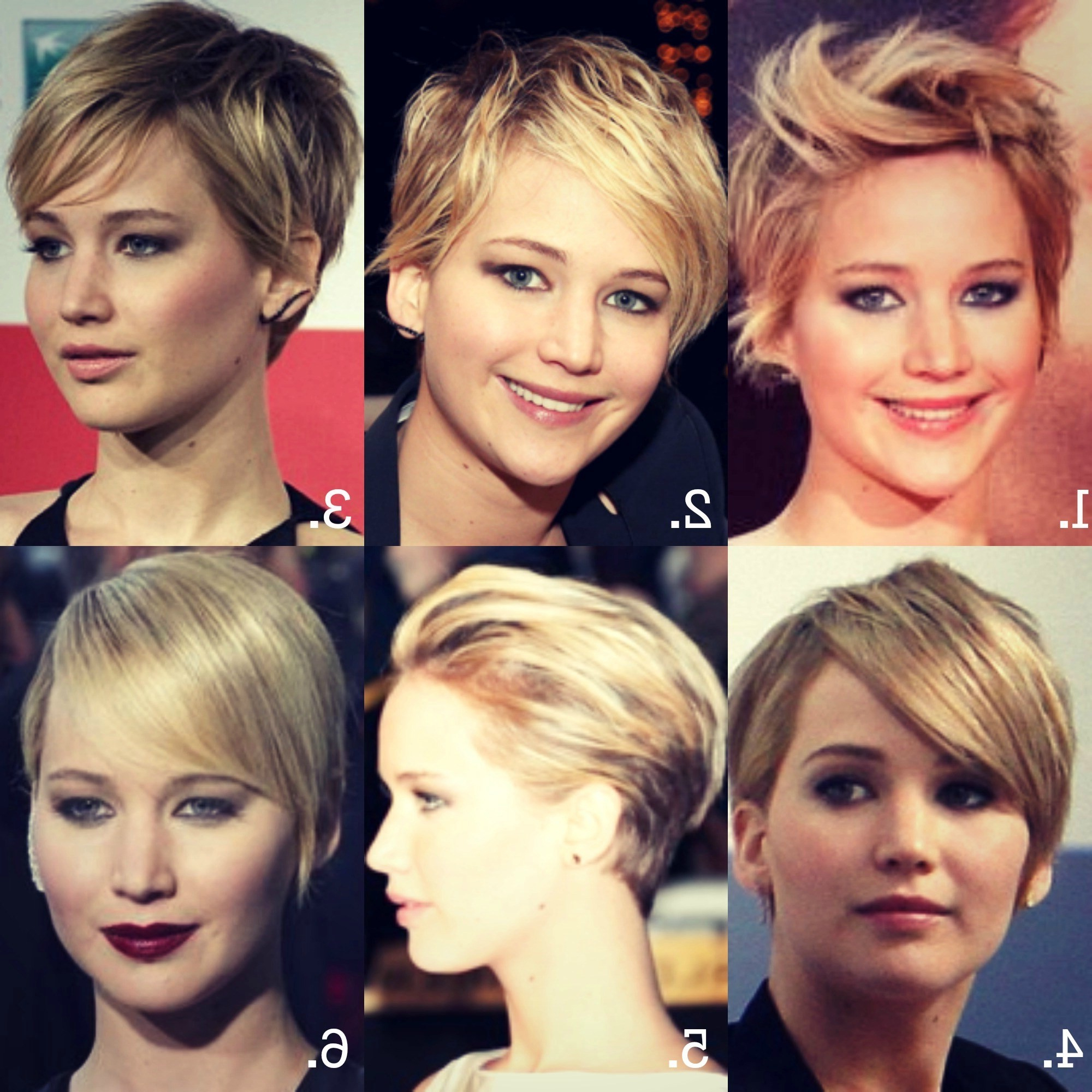 Short Hairstyles For Big Ears Best Of Jlaw1 – Razanflight Regarding Short Haircuts For Women With Big Ears (View 7 of 25)