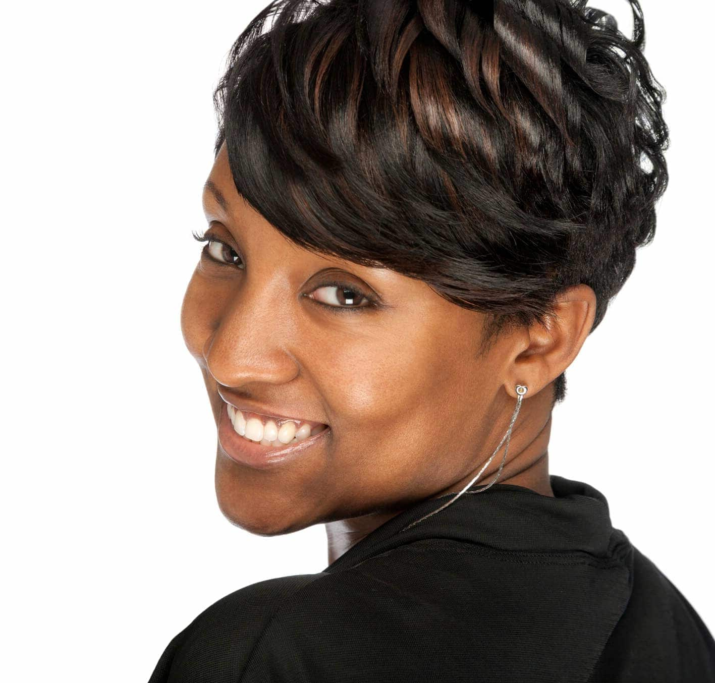 Short Hairstyles For Black Women: 18 Styles We Love With Regard To Short Hairstyles For Afro Hair (View 19 of 25)