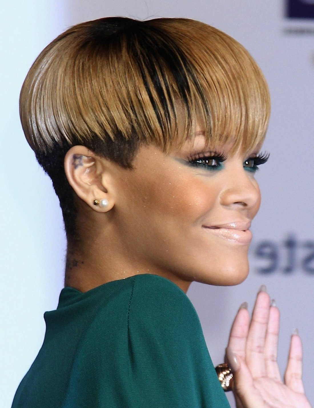 Short Hairstyles For Black Women Bowl Cut – Find Lots Of Fabulous In Short Haircuts For African Women (View 24 of 25)