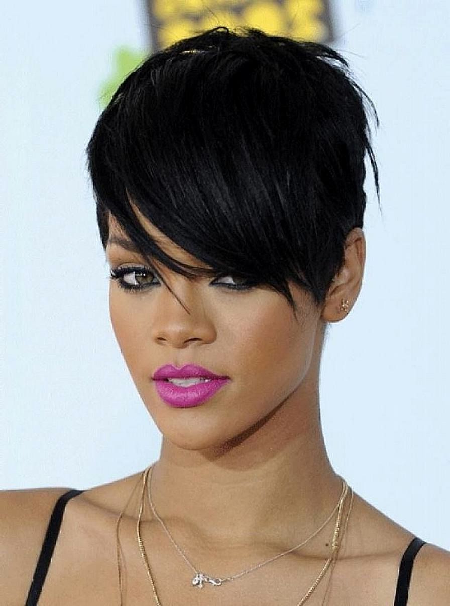 Short Hairstyles For Black Women … | Hair | P… With Regard To Short Haircuts For Black Women With Oval Faces (View 15 of 25)