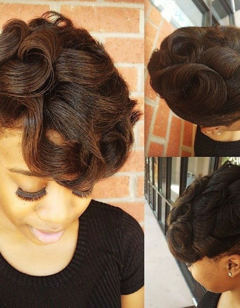 Short Hairstyles For Black Women In Dallas   Protective Styles Regarding Sexy Short Haircuts For Black Women (View 20 of 25)